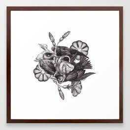 Some Birds... Framed Art Print