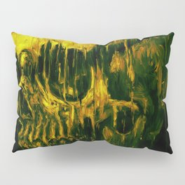 Melting Skull Pillow Sham