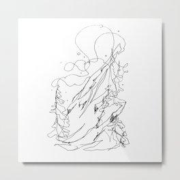 Steep and Deep Metal Print