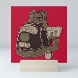 Introverts Club Mini Art Print