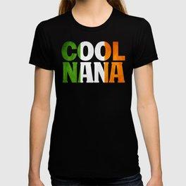 Irish Nana Gift Irish Flag Shirt T-shirt