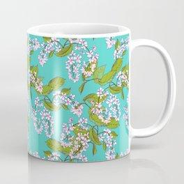 Bird cherry, spring pattern Coffee Mug