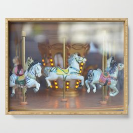 Merry-Go-Round Serving Tray