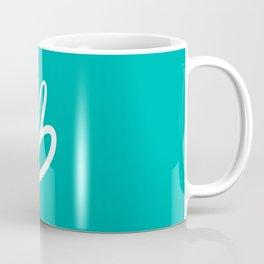 Recettes du Bonheur - Bleu Coffee Mug