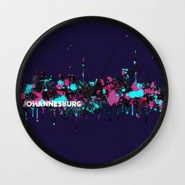 Jozi Skyline Wall Clock