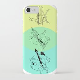Keytar Platypus Venn Diagram iPhone Case