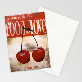food of love Stationery Cards