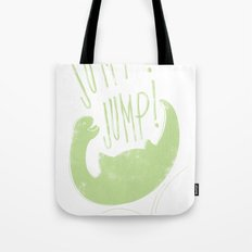 JUMP! JUMP! Tote Bag
