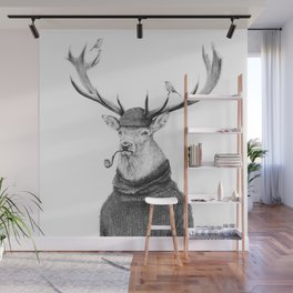 Wild Thinking Wall Mural