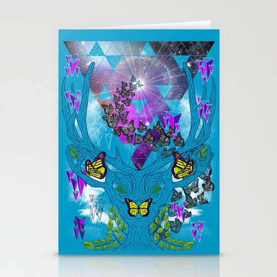 In the Gardens of Babylon Stationery Cards