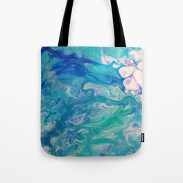 Effervescent Waves Tote Bag