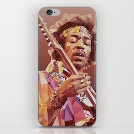 Jimi Hendrix Guitar God iPhone Skin