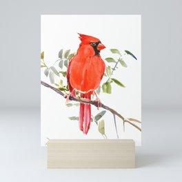 Cardinal Bird Mini Art Print