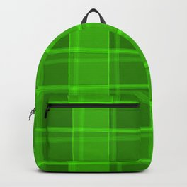 Severe strokes of light and herbal lines on a juicy background. Backpack