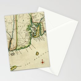 Rhode Island 1780 Stationery Cards