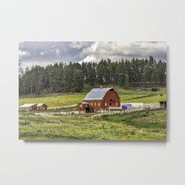 Black Hills Farm Metal Print