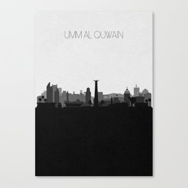 City Skylines: Umm Al Quwain Canvas Print