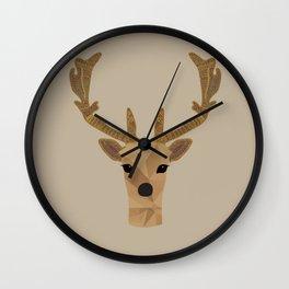 Antler Home Wall Clock