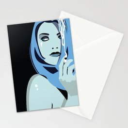 Genevieve & Cigarettes  Stationery Cards