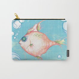 Pink Fish Dreams  Carry-All Pouch