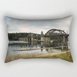 Siuslaw River Bridge Rectangular Pillow