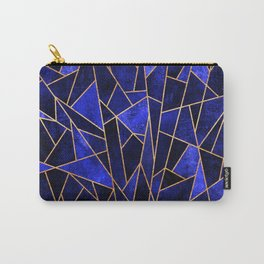 Shattered Sapphire Carry-All Pouch
