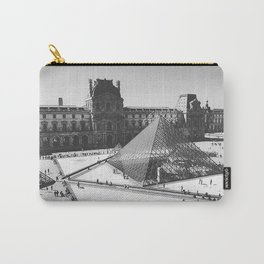Falling in Louvre Carry-All Pouch