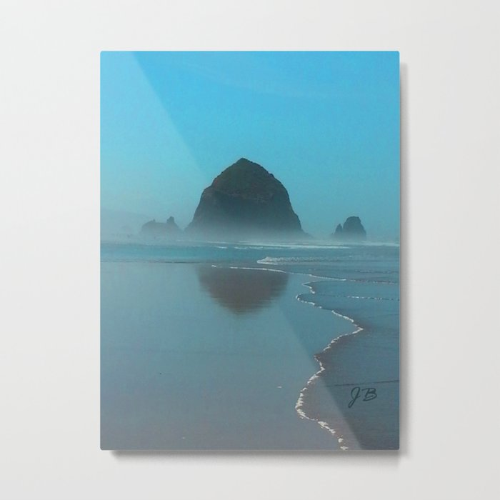 Haystack Rock, Cannon Beach Oregon Metal Print