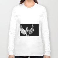 angel wings Long Sleeve T-shirts featuring Angel Wings by Shaunia McKenzie