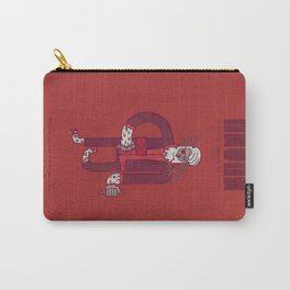 Anton, The Valentine's Yeti Carry-All Pouch