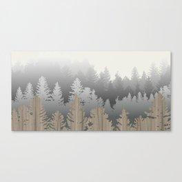 Treescape Large Canvas Print