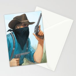 Outlaw  Stationery Cards