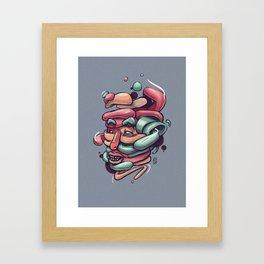 Assemble Framed Art Print