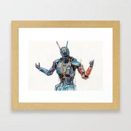 Chappie, Illest Gangsta No.1 Framed Art Print