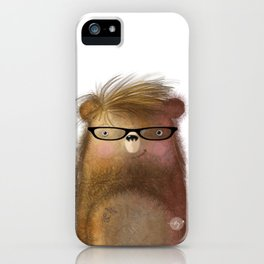 Bear with Me | Hipster Bear | Whimsical iPhone Case