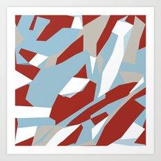 Hastings Zoom Red Art Print