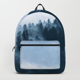 Fog at the forest Backpack