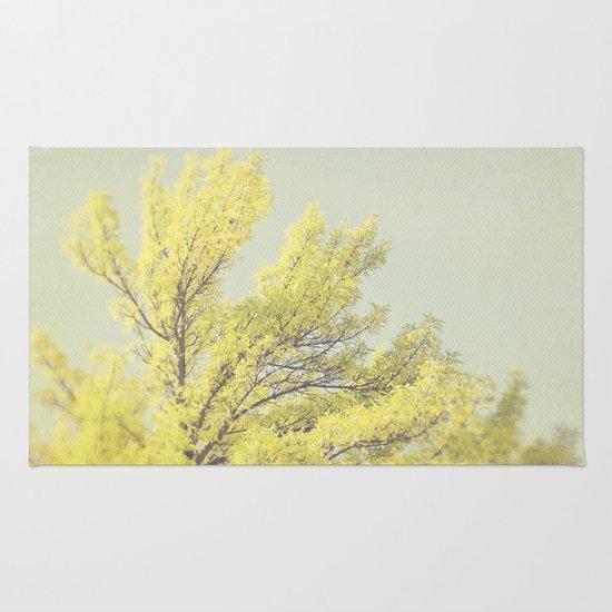 Yellow Tree Rug