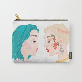 Two Halseys Carry-All Pouch