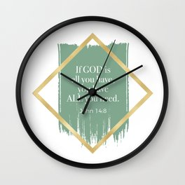 GOD is ALL you need. Wall Clock