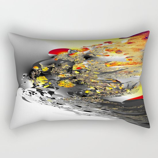 world rubish mountain Rectangular Pillow