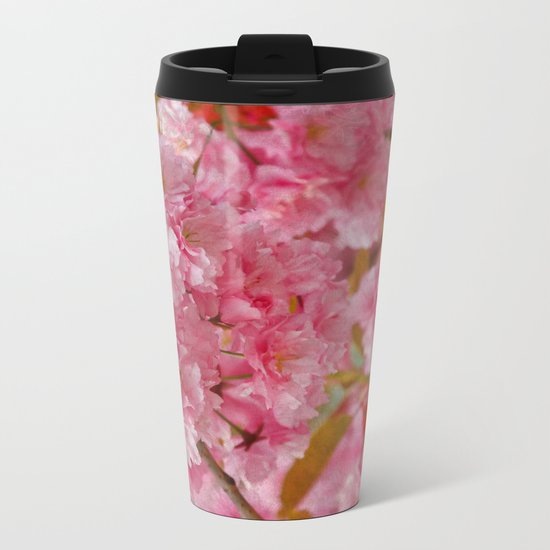 Cherry blossom #4 Metal Travel Mug