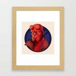 Hell Boy by Tom Walker Framed Art Print