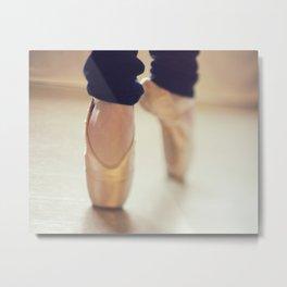 Ballet Shoes II Metal Print