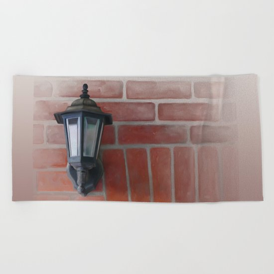 Lantern Beach Towel