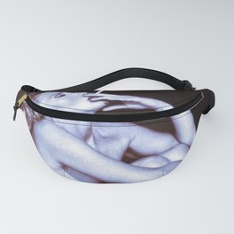 SMOKING WOMAN - Blue-Brown Fanny Pack