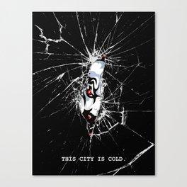 COLD CITY Canvas Print