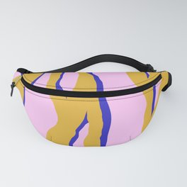 Electric tiger stripes Fanny Pack
