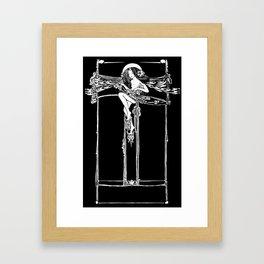 Jessie M King Art Nouveau Glasgow Style Fairy Arts and Crafts Framed Art Print