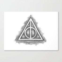 Deathly Hallows Canvas Print